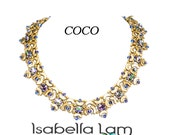 COCO ARCOS and Swarovski Navette Beading Necklace KIT