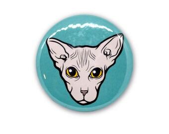 "Sphynx Cat (2.25"" Magnet)"