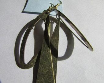 odd brass dangles