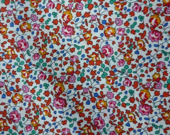Liberty of London tana lawn fabric Eloise Fat Quarter Liberty Tissu