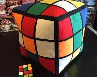 Rubik's Cube pillow