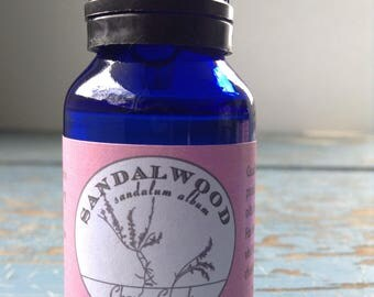 Sandalwood Absolute Essential Oil - Diluted in Jojoba Oil