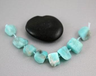 Amazonite Nugget Beads - Freeform - Amazonite Beads - Natural