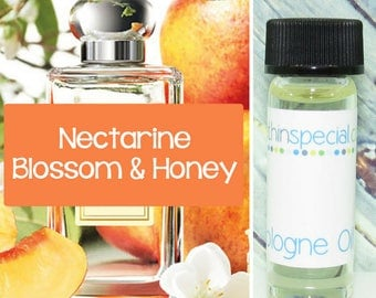 Nectarine Blossom & Honey Inspired by Jo Malone Perfume Oil Sample, Sample Oil, Perfume Sample, Tester Fragrance, Perfume Tester