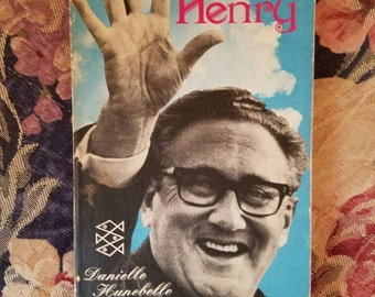 Dear Henry paperback book featuring Henry Kissinger