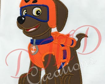 Zuma, Paw Patrol Applique Shirt