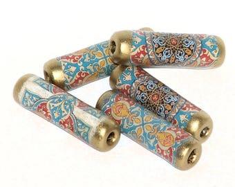 Moorish paper beads