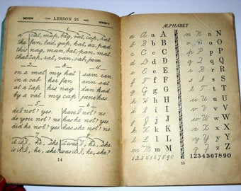 Antique (1918) School Book -Phonic Primer - Part First