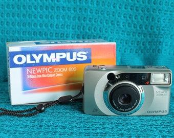 Olympus Newpic Zoom 600 APS camera working