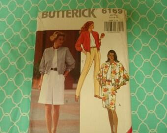 Butterick 36169 Misses Jacket, Pants, Skirt, Shorts  Pattern  Sizes 12-14-16 UNCUT