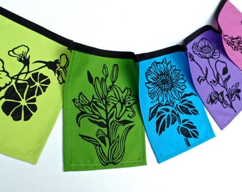 Flower Flags NEW!- Jewel Tones