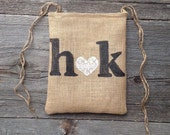 Dollar Dance Bag, Money Bag, Personalized Wedding Bag, Wedding Dance Bag, Rustic Wedding, Burlap Bag, Bride Groom, Country Western Wedding