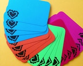 Happy Heart Stack Pack (20 mini cards/tags)