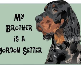 Gordon Setter bodysuit, bodysuit with Gordon Setter, Dog Lover gift, baby bodysuit, baby gift.