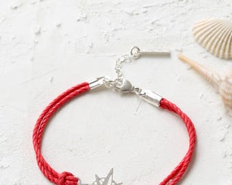 On Sale 40% off, Nautical Compass Bracelet, friendship bracelet, charm bracelet, nautical jewelry