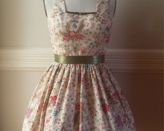 Floral Cotton Day Dress