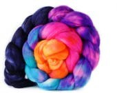 Shockwave 4 oz Merino softest 19.5 micron Roving Top for spinning
