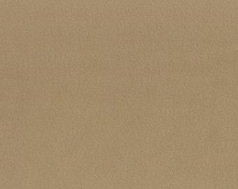 "Fleece Fabric - Solid Taupe Beige - David Textiles Anti-Pill 60/62"" YARD"