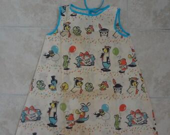 Vintage 1960s Yogi Bear Paper Dress for Little Girl, Hanna Barbera Productions