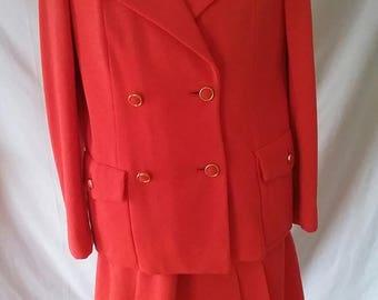 Vintage Handmade Vogue Paris Original 3 Piece Day Suit