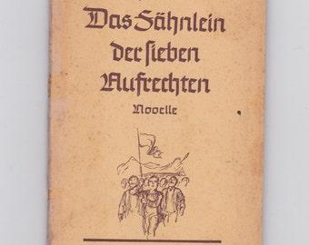 vintage 1947 German language book