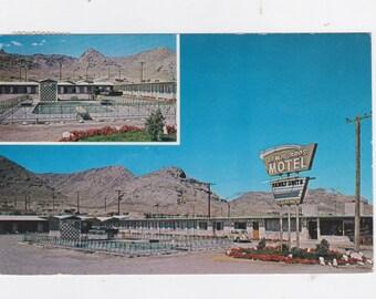 Vintage 1965 post card Lewis Bros. motel Wendover Utah