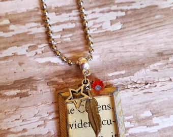 Twilight Necklace Literary Jewelry