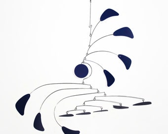 Mobile Mid Century Modern Mobile - Looks Lovely in a Mid Century Modern Home or Office - Calder Inspired  Arrow Style Sm