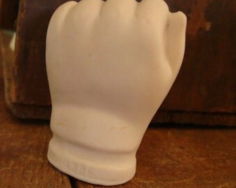 The Original Vintage Chubby Porcelain Doll Hand for Assemblage