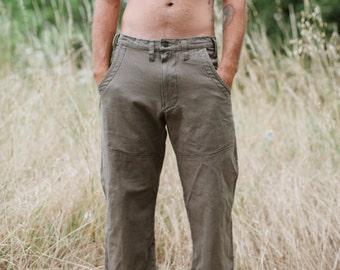 Hawthorn Pants/Hemp and Organic Cotton Work Pant