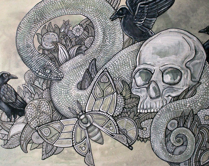 Memento Mori Art Print by Lynnette Shelley