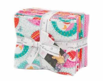 SPRING SALE - Fat Quarter Bundle (13 plus panel) - Spring Bunny - Stacy Iset Hsu - Moda Fabrics