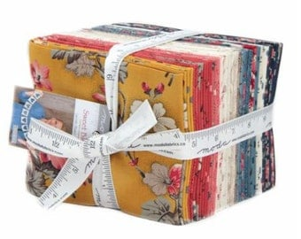 SUMMER SALE - Sweet Blend - Fat Quarter Bundle (30) - Laundry Basket Quilts - Moda Fabrics