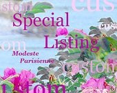 Special Listing for P -