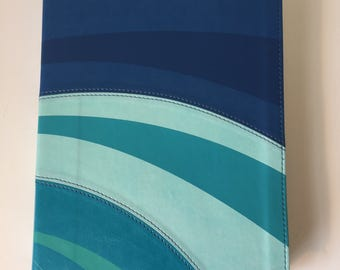 Blue Wave Spanish Leather Journal
