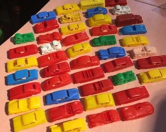 45 Vintage Plastic Cars