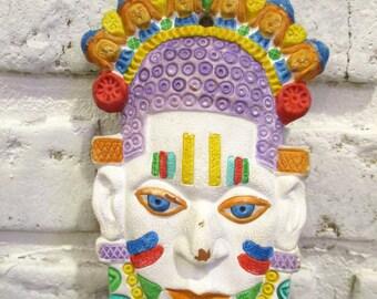 Mayan Mask Etsy