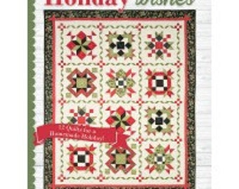 Holiday Wishes quilt book