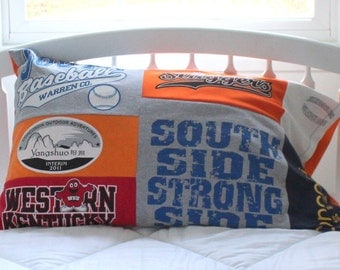 Custom T Shirt Pillow Case - Pillow Sham  - Memory Pillow - Standard