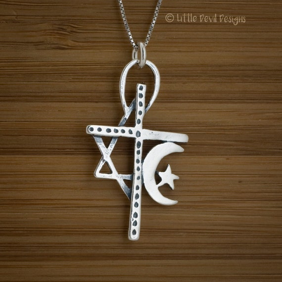 Unity Pendant - STERLING SILVER - (Pendant, or Necklace)