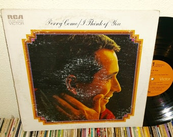 Perry Como I Think Of You Vintage Vinyl Record