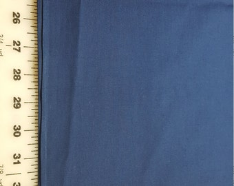 Navy blue Broadcloth almost 3yd