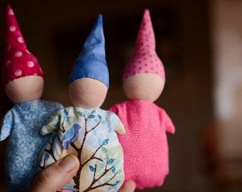 Waldorf Pocket Dolls, Small Waldorf Dolls, 1st Doll