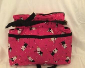 Medium  Pig reversible handbag bag purse