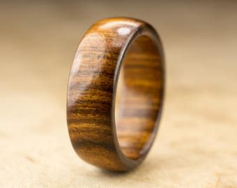 Size 9.75 - Tamboti Wood Ring No. 276
