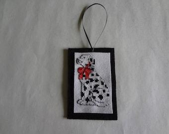 Dalmatian magnet/ornament- will personalize