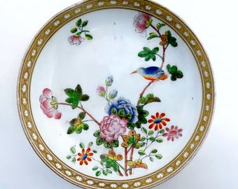 Vintage Chinese Pin Dish-Candy Dish