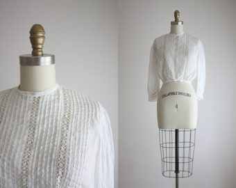 1910s cotton blouse