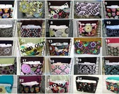 Checkbook  Holder / Cover/ Case - PICK YOUR FABRIC