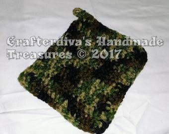 Trivet, Potholder, Handcrocheted Trivet, Handmade Trivet, Kitchen Decor
